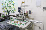 単一ヘッドによってコンピュータ化されるスパンコールの刺繍機械