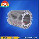 Round Shape LED dissipador de calor fábrica dissipador de alumínio