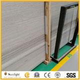 Marmo bianco della Cina, mattonelle di legno del marmo della vena, lastra di marmo bianca, marmo di legno di cristallo del grano