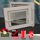 Inclinazione e girata lustrate doppio Windows, UPVC Windows con i ciechi all'interno