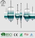 Lâmpada de vidro italiana do pendente do diodo emissor de luz de Stype para a iluminação de suspensão decorativa do quarto