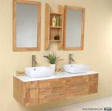 Gabinete de vanidades de baño de densidad media de la junta de espuma de PVC