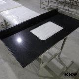 Чисто белые Countertops камня кварца для комнаты кухни