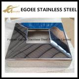 AISI304 / 316 Miroir / Polissoir en acier inoxydable Coque de base pour escalier