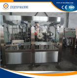 Linha de produção tampando de enchimento do leite do frasco da máquina do leite