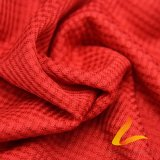 Tissu élastique tricoté de Lycra de Spandex de polyester pour la forme physique de vêtements de sport (LTT-HFC#)