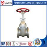 Запорная заслонка стержня литой стали DIN3352 поднимая