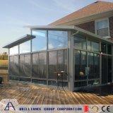 Aluminium Sunroom van het Glas van de Prijs van de fabriek het Dubbel Aangemaakte