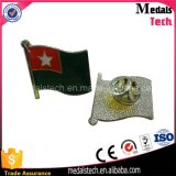 Divisa magnética modificada para requisitos particulares del Pin de la solapa de la estrella del esmalte del indicador nacional de la insignia