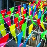 Promoción Impreso Banderas Custom-friendly Eco partido banderín Triángulo