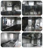L'acier inoxydable mure les remorques incluses de restauration