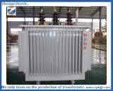 Transformateur immergé dans l'huile de distribution de courant électrique monophasé de fournisseurs de la Chine