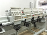 Máquina automatizada aguja del bordado de la pista 12 de la máquina 4 del bordado del casquillo para la venta