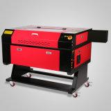 cortadora del grabado del grabador del laser del CO2 80W con el eje rotatorio de 80m m 3-Jaw 700*500m m