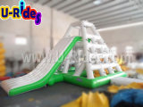 Torre inflável quente de esportes aquáticos com slide