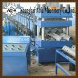 Full Automatica PLC Control Motor Way Guardrail Roll formando máquina