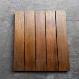 Плитки палубы ровного поверхностного Teak Бирмы напольные