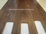 Suelo de madera dirigido natural engrasado cera de la nuez negra
