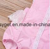 귀여운 신생 여자 아기 등이 없는 경례군악 단추 여름 장난꾸러기 Bodysuit 차림새