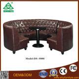 Cuoio sezionale del sofà di alta qualità di prezzi bassi, sofà di cuoio italiano moderno