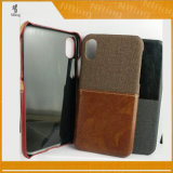 Wholesale Wallet Phon Boxes Leather Boxes for iPhone X, Back Boxes for iPhone X