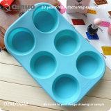かわいく熱い販売のFDAの食品等級の円形のペストリーの耐熱の深皿