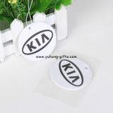 Aroma de coco Non-Toxic colgantes papel Ambientador de coche (YH-AF090)