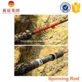 Convertito di filatura Rod di pesca di mosca del carbonio