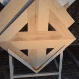 Специальная плитка мрамора формы, плитки Brown для настила