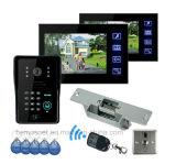 Câmera video impermeável esperta prendida do IP do Doorbell do intercomunicador do telefone da porta da cor