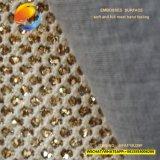 Verkaufendes synthetisches Spitzenleder für Dame Shoe mit Funkeln Gfaf15u29f