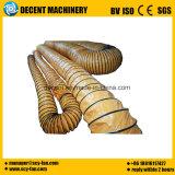 Capota retráctil multiuso do duto de ar de alta qualidade especial retardantes de chama ignifugação de PVC Tubo de malha