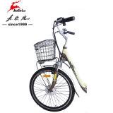 """26 """" E-Vélo sans frottoir d'aluminium de ville de moteur du bâti 250W d'alliage (JSL038A)"""