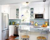 Mobília de madeira moderna da cozinha de Frameless