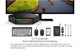 Androider Kasten intelligentes androides Pendoo T95z plus S912 2g 16g androiden Kodi Fernsehapparat-Kasten