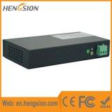 Interruptor de rede Ethernet de 4 portas 10 / 100m com 1 porta de fibra