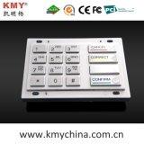160 * 102.4 PCI Encryption Pin Pad Teclado de metal EPP (KMY3503A-PCI)