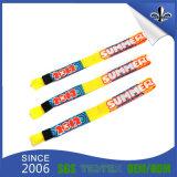Gesponnener Firmenzeichen-Wärmeübertragung-GummibandWristband