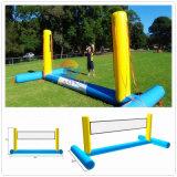Strumentazione della rete di pallavolo dell'acqua, campo di pallavolo, corte di pallavolo