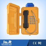 Telefone Emergency do LCD do telefone à prova de intempéries ao ar livre para o fuzileiro naval