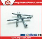 Hot Sale Zinc Plated M5 Hex Socket Head Confirmat para móveis Screw