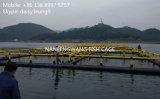 Cage nette de poissons de pisciculture de HDPE