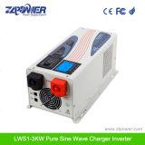 Sonnenenergie-Inverter des Inverter-1kw reiner des Sinus-1000W mit Aufladeeinheit