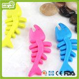 TPR Fish Dog Chew Toys Produto para cães