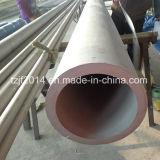 Ronda de gruesos tubos de acero inoxidable integrada