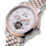 Orologio meccanico automatico impermeabile Relogio dell'acciaio inossidabile di settimana della data di Tourbillon della vigilanza di lusso degli uomini maschile