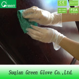 Guanto libero del vinile del PVC del guanto della polvere a gettare trasparente di sicurezza