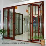 Прочная раздвижная дверь алюминия высокого качества