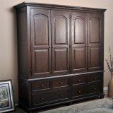 Design de arrumação de gabinete de madeira design para quarto (GSP17-011)