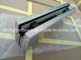 Ajustage de précision en verre de connexion de dessus de porte d'acier inoxydable